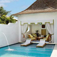 Palm Beach Chic Backyards- The Glam Pad