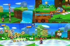 paper mario sticker star 3ds | Review: Paper Mario: Sticker Star 3DS - - Daily Record