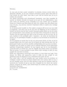 modele lettre de demission association loi 1901 document