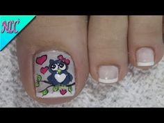 Pretty Toe Nails, Pretty Toes, Pedicure, Lily, Nail Art, Youtube, Pretty Pedicures, Designed Nails, Toenails Painted
