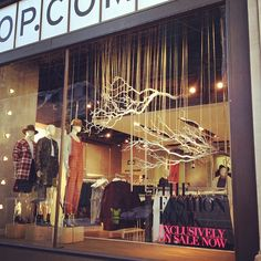 Could the Edited shop window be any cooler? Our VM team has done a great job as always. #topshop #topshopoxfordcircus #topshopedited #edited #autumn #shop #window