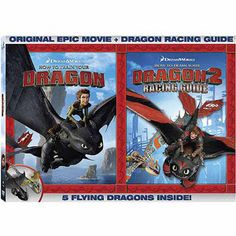 How To Train Your Dragon (DVD + How To Train Your Dragon 2: Racing Guide Book) (Widescreen)