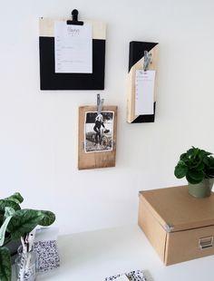 Back to Basic Dorien   Klemborden DIY  Via inspiratie.KARWEI.nl