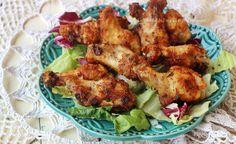 Ali+di+pollo+in+padella+croccanti
