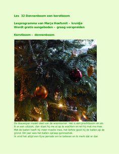 les 32 kerstboom of dennenboom by kruidje les via internet - kruidenkennis via slideshare