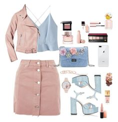 """👅💕💕💕"" by sergheianamaria on Polyvore featuring Marc Jacobs, Topshop, WithChic, Mackage, Burberry, Puma, Bobbi Brown Cosmetics, Sigma, Yves Saint Laurent and Too Faced Cosmetics"