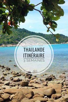 Itinéraire pour 3 semaines en Thailande! Bangkok, Ayutthaya, Sukhothai, Chiang Mai jusqu'aux plus belles îles de Thailande! #thailande #asie #itinéraire