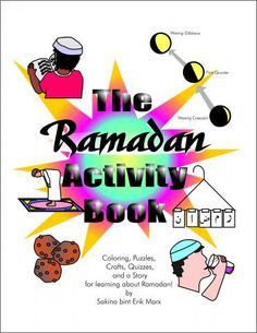 Ramadan Activity Book For Boys / Girls by Al Tilmeedh, to purchase visit www.arabicplayground.com