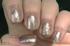 Finger Paints Go Baroque Maybelline Gilded Rose Comparison