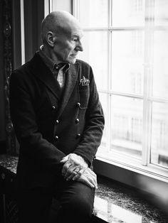 The Rake - Patrick Stewart - Simon Emmett