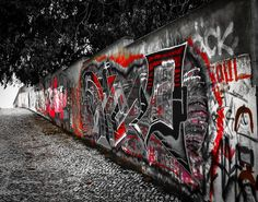 A graffitis shot, taken near my place. A graffiti competition takes place every year on this spot. Its a very long wall, ideal for this type of art. This shot just shows a very tiny fraction of it.... Click on this link to see all my Photos and Edits:   https://www.clickasnap.com/search?user=brumest&sort=date&order=desc