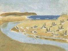 ymutate: Winifred Nicholson 1893-1981 Sandpipers, Alnmouth 1933 found at: tate.org.uk