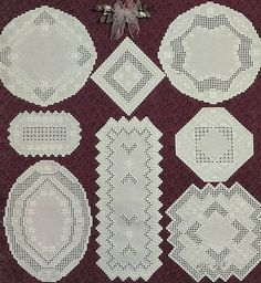 """Nordic Needle """"Classic Creations IV in Hardanger Embroidery"""" Leaflet 