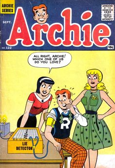 Archie 122, Archie Comic Publications, Inc. https://www.pinterest.com/citygirlpideas/archie-comics/