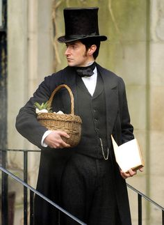 Richard Armitage Mr. Thornton in North and South. Leveling on Austen's Mr. Darcy and raising the bar..