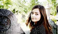 ksc The Doctor: Clara, in your book there was a leaf. Why?..//  Clara: That wasn't a leaf. That was page one. ♥♥