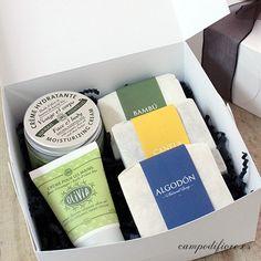 Caja de jabones naturales y cremas ecológicas   Jabones naturales