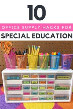 classroom organization for special education