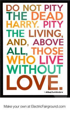 Albus Dumbledore Framed Quote