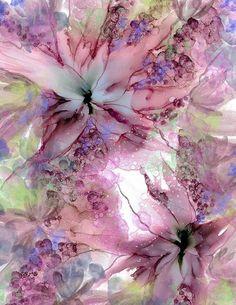 A print alcohol ink painting art print original artwork Alcohol Ink Crafts, Alcohol Ink Painting, Alcohol Ink Art, Jazz Art, Encaustic Art, Watercolor Flowers, Painting Flowers, Fine Art Paper, Flower Art