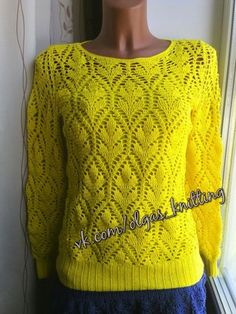 VK is the largest European social network with more than 100 million active users. Lace Knitting, Knitting Patterns, Crochet Patterns, Crochet Chart, Knit Crochet, Learn How To Knit, Garter Stitch, Knit Fashion, Crochet Clothes