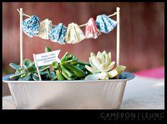 cupcake liners + cactus