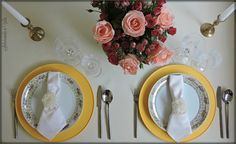 saboreando a vida: Mousse de Atum + Mesas de Primavera (Spring table settings)
