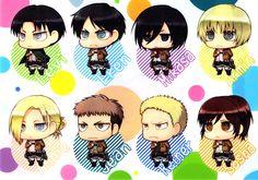 Shingeki no Kyojin r wallpaper background Armin, Shark Puppet, Annie Leonhardt, Production Ig, Female Titan, Attack On Titan Funny, Attack Titan, Cute Chibi, Manga