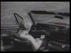 1965 Ford promo film- Experimental 'Wrist-Twist' steering control on a Mercury Park Lane convertible