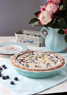 Blaubeer Cream Pie ~ SASIBELLA