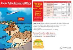 Eid Al Adha Exclusive offers to Sharm!  Book Now : https://www.facebook.com/AltayyarOnline/app_423078207729070