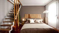 Transformación de salón en dormitorio con vestidor