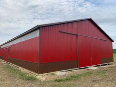 New London, Ohio. Pole Barns, New London, Ohio, Garage Doors, Outdoor Decor, Home Decor, Warehouses, Columbus Ohio, Decoration Home
