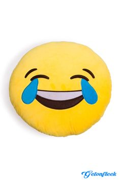 Emoji Crying Laughing Pillow - Check out the entire collection! www.getonfleek.com