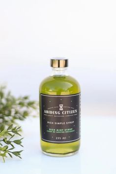 Rich Mint Syrup – Pineridge Hollow Aromatic Bitters, Lemon Lime, Simple Syrup, Grapefruit, Perfume Bottles, Mint, Drinks, Food, Drinking