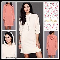 "Selling this ""FREE PEOPLE HOODED TUNIC DRESS"" in my Poshmark closet! My username is: aprils2ndcloset. #shopmycloset #poshmark #fashion #shopping #style #forsale #Free People #Dresses & Skirts"
