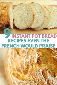Best INSTANT POT BREAD recipes Bread in an electric pressure cooker is fast easy and perfect for busy families Learn how to make healthy gluten free low carb paleo or keto friendly or vegan dough Bread Machine Recipes, Easy Bread Recipes, Cooking Recipes, Free Recipes, Cooking Tips, Crock Pot Bread, Slow Cooker Bread, Instapot Bread, Instant Pot Dinner Recipes