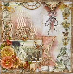 NEW! Kit Page & Video {The Scrapbook Diaries}