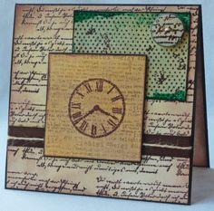 Vintage Clocks Card