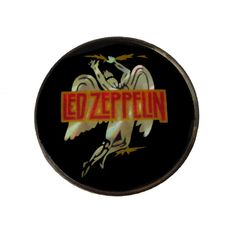 """LED ZEPPELIN swan song vintage mirror pin button badge pinback rock music by VintageTrafficUSA  25.00 USD  A Beautiful vintage Led Zeppelin pin! Used but decent condition. Measures: approx 1"""" 20 years old hard to find vintage high-quality lapel/pin. Add inspiration to your handbag tie jacket backpack hat or wall! -------------------------------------------- SECOND ITEM SHIPS FREE IN USA!!! LOW SHIPPING OUTSIDE USA!! VISIT MY STORE FOR MORE ITEMS!!! http://ift.tt/1PTGYrG FOLLOW ME ON FACEBOOK…"""