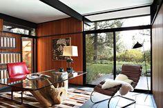 jamie bush mid-century modern house home interior