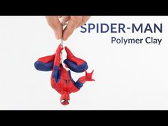 (2) Hanging Spider-Man (Marvel) – Polymer Clay Tutorial - YouTube