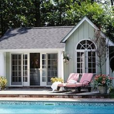 Pool house project this year! :)