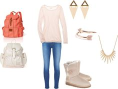 """""""Cute School Outfit"""" by ariannachevere on Polyvore"""