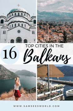 Here are the 16 best cites to visit in the Balkans. Explore Montenegro, Serbia, Croatia and many more Balkan destinations. Travel Through Europe, Europe Travel Tips, Asia Travel, Beautiful Places In The World, Oh The Places You'll Go, Cool Places To Visit, Best European Road Trips, European Travel, Montenegro Travel