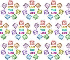 vw_live_the_life FQ fabric by kalona_creativity on Spoonflower - custom fabric
