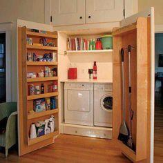armário arrumação