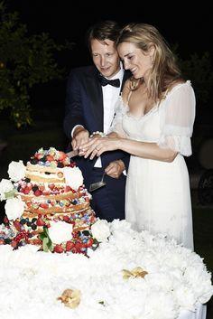 Exclusief voor Vogue: Lieke van Lexmonds romantische Toscaanse bruiloft