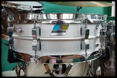 Ludwig Acrolite snare drum. 1970's Ludwig Drums, Vintage Drums, Snare Drum, Drum Kits, Percussion, Really Cool Stuff, Dope Music, Drummers, Musical Instruments