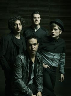 Fall Out Boy ... LOVE THEM!!! from left to right Andy Hurley, Pete Wentz, Patrick Stump and Joe Trohman :)
